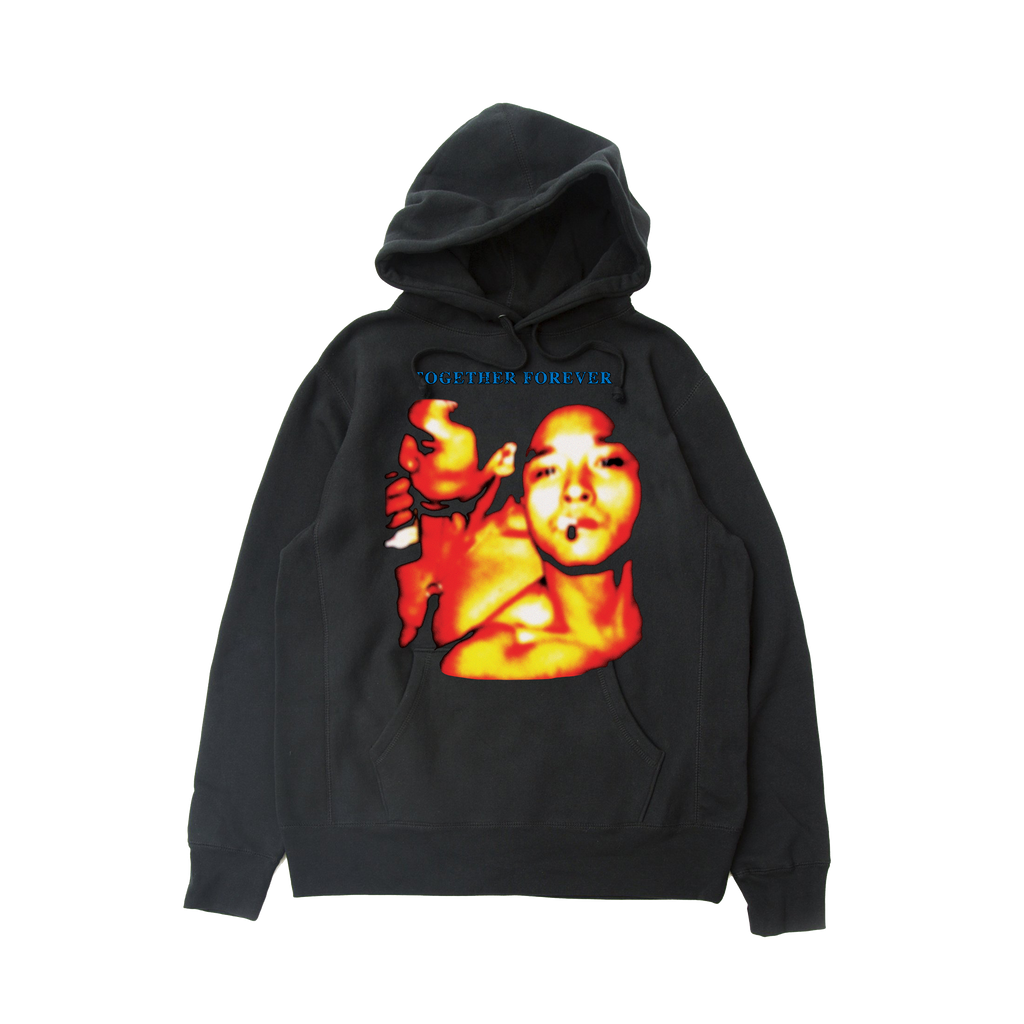 Together Forever Reverse Weave Hoodie