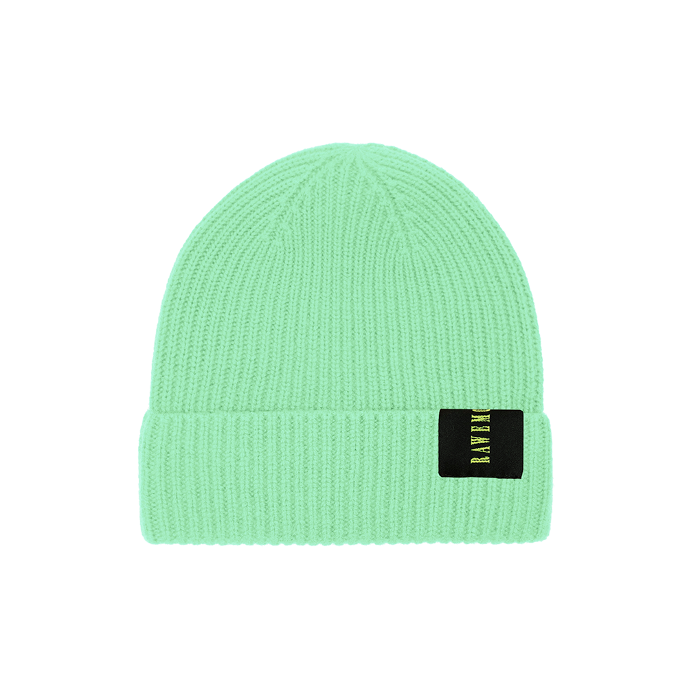 Mint Logo Label Knit Beanie
