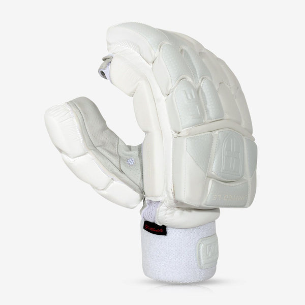 Limited Batting Gloves (White)