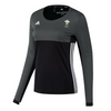 Wales Hockey Replica Playing Shirt (Womens, Black, Long Sleeves)