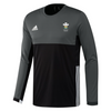 Wales Hockey Replica Playing Shirt (Youth, Boys, Black, Long Sleeves)