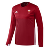 Wales Hockey Replica Playing Shirt (Youth, Boys, Red, Long Sleeves)