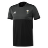Wales Hockey Replica Playing Shirt (Mens, Black, Short Sleeves)