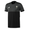 Wales Hockey Replica Playing Shirt (Youth, Boys, Black, Short Sleeves)