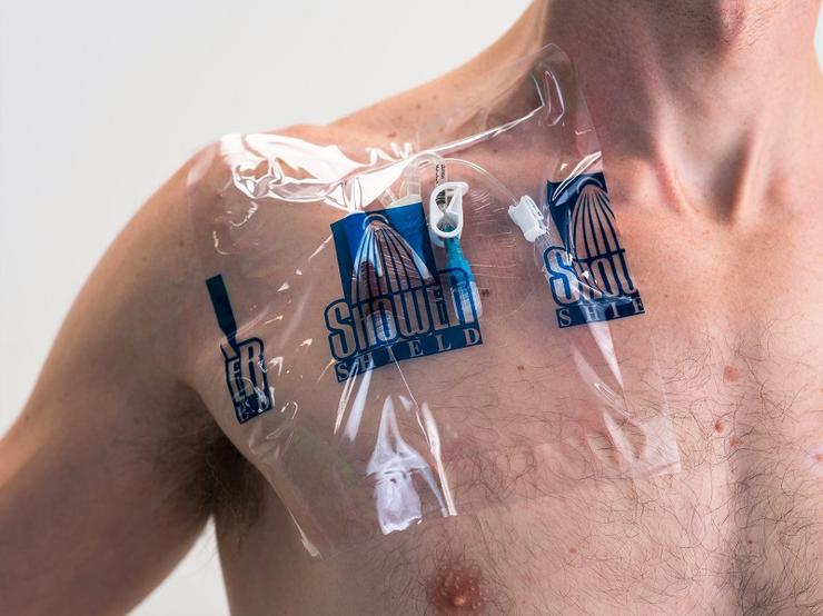 Shower Shield Catheter Cover