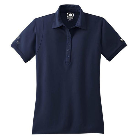 Women's LTV Logo Navy Polo