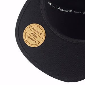 snapback wood cap - wooden - streetwear hat new era
