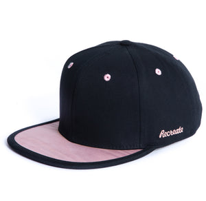 girl snapback cap rose wood