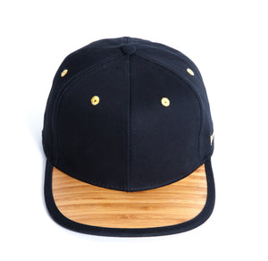 snapback wood cap - wooden - streetwear hat new era bamboo