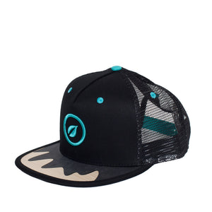 grid cap snapback recreate wood sunshade visor hat surf skate