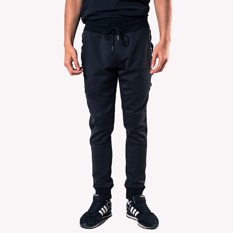 Side Lace Stretch Joggers