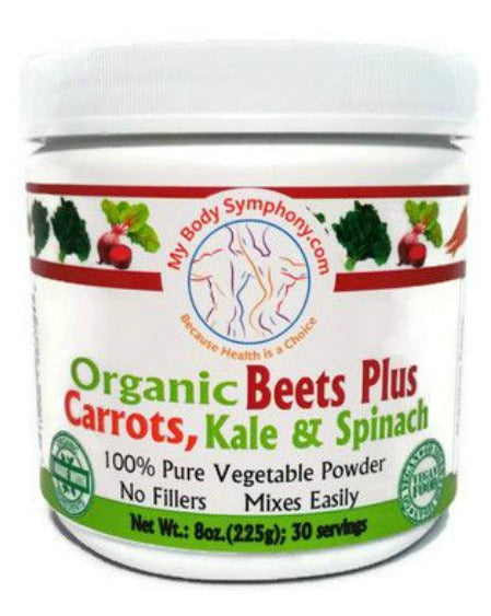 Beets Plus Carrots, Kale & Spinach Powder