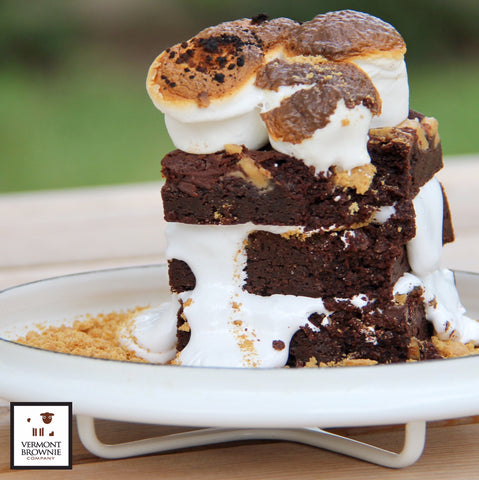 S'more Brownie Tower