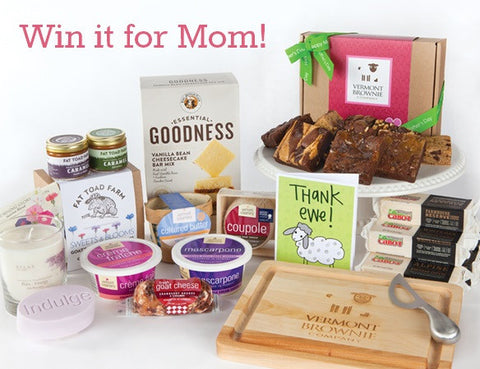 Vermont Brownie Company Mother's Day Giveaway with Vermont partners