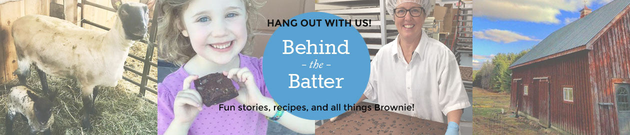 Hang out with us Behind the Batter for fun stories, recipes and all things Brownie!