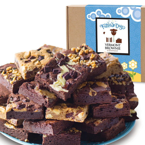 NEW! Father's Day Brownie Sampler