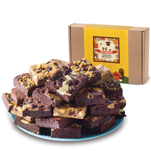 NEW! Thanksgiving Brownie Sampler