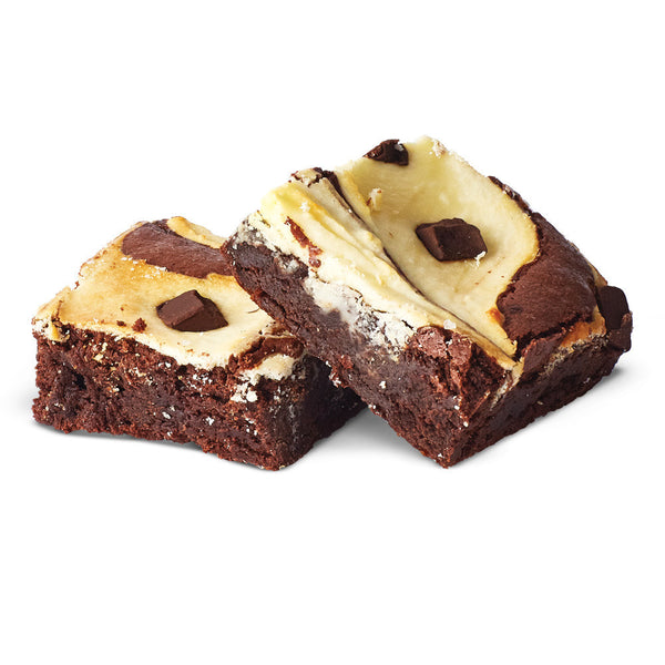Dark Chocolate Chevre Brownie