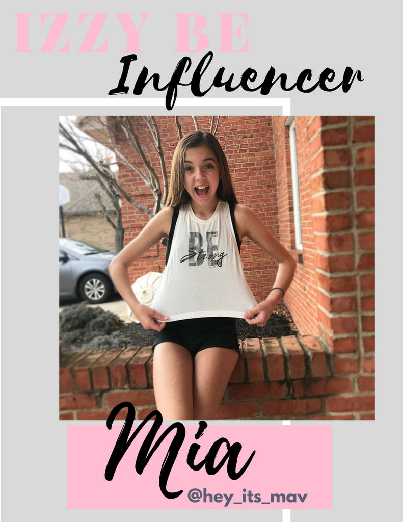 Influencer of The Month - Mia