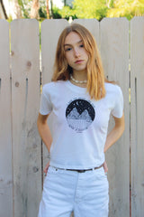 Sense Of Adventure Vintage Jersey Cropped T-Shirt
