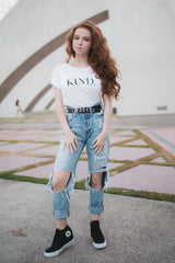 Kind. Perfect Tee in white