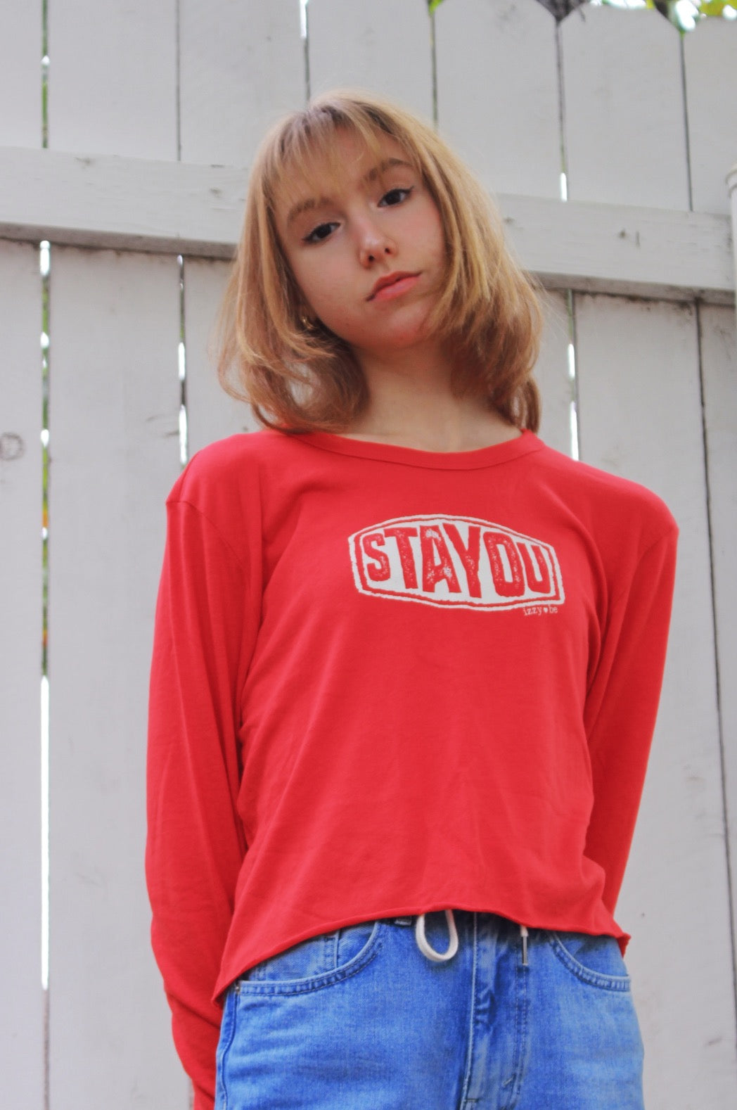 Stay-you Long Sleeve Crop