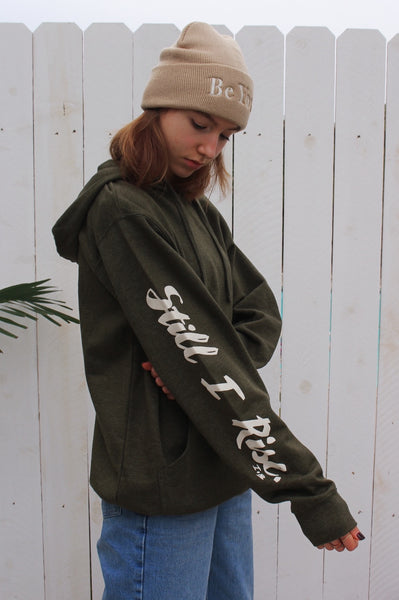 STILL I RISE UNISEX Hoodie in green