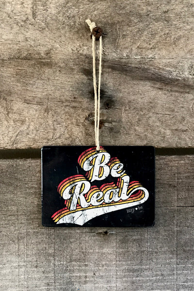 BE REAL Retro Mini Metal Prints