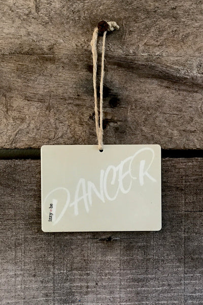 DANCER Mini Metal Prints in natural