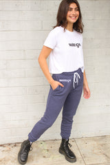 Warrior White Cropped Tee