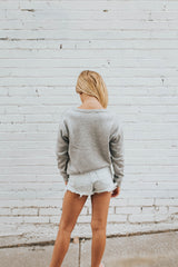 Unstoppable Sweatshirt in Heather Grey