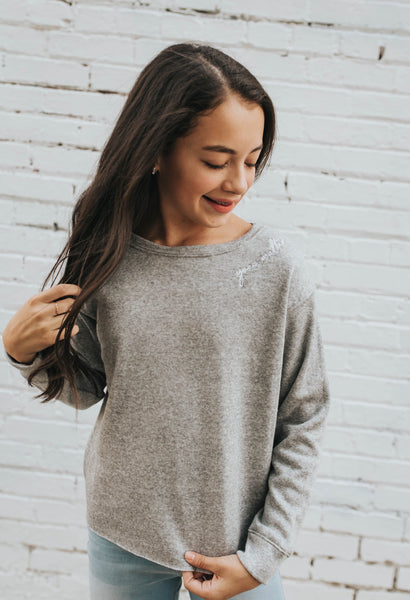 You Matter Sweatshirt in Grey