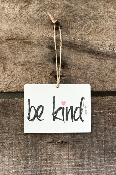 BE KIND. Mini Metal Prints
