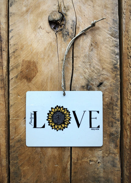 Sunflower Love Mini Metal Prints
