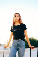 KIND. Perfect Tee in Black