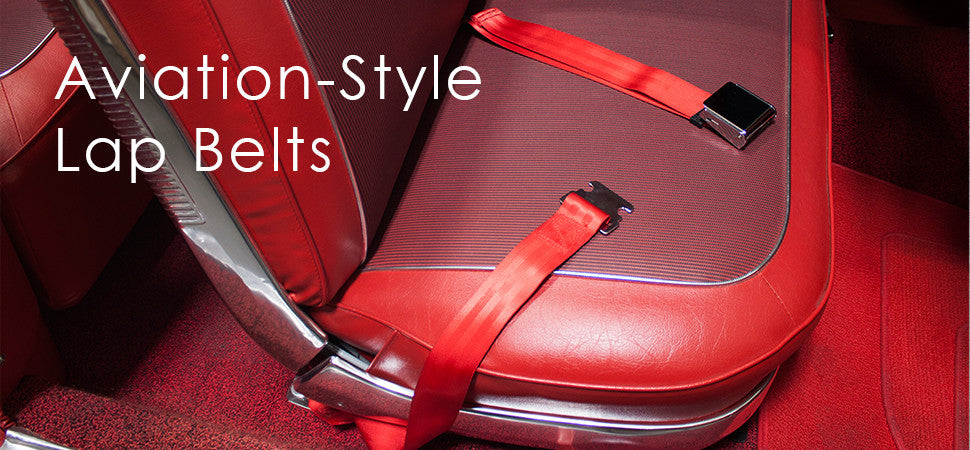 Aviation Style Lap Belts