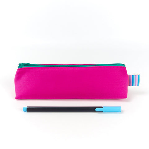 Hot Pink Pencil Case