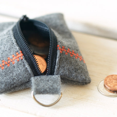 Keyring Coin Pouch