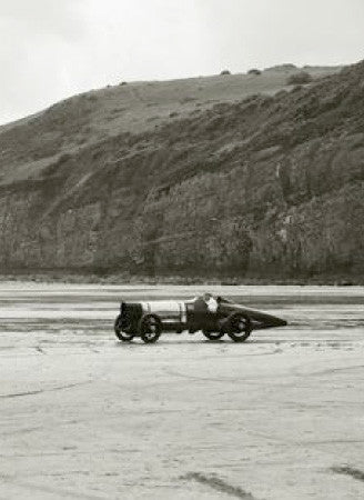 Bluebird Car Flies Again at Pendine Sands