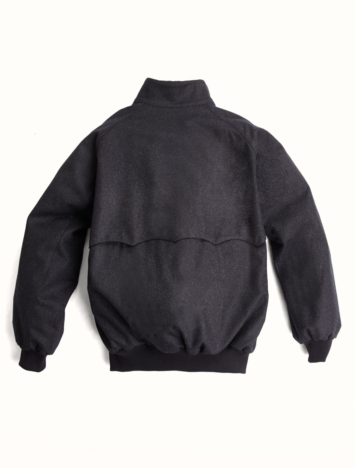Harrington Merino Wool Black