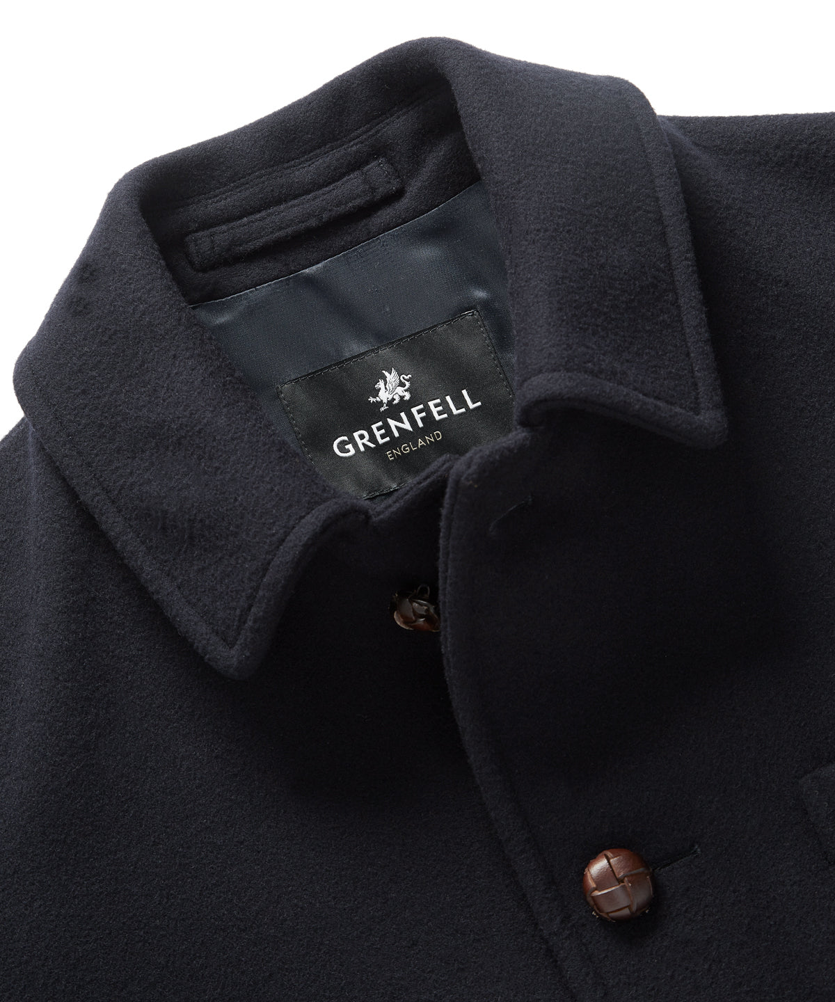 Caledonian in Merino Wool Navy