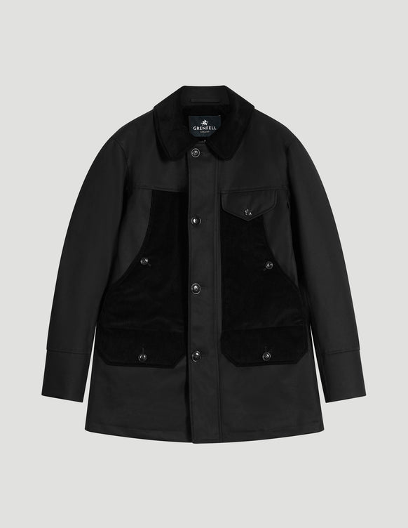 Countryman Grenfell Cloth Black and Corduroy
