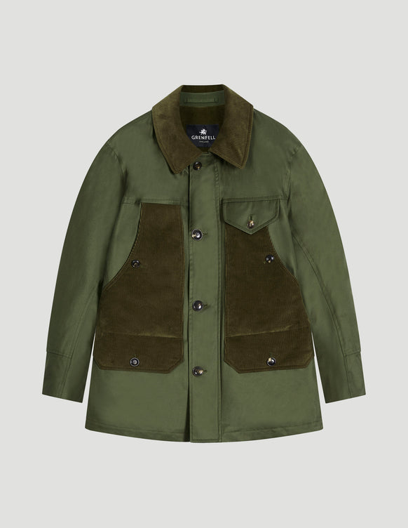 Countryman Grenfell Cloth Green and Corduroy