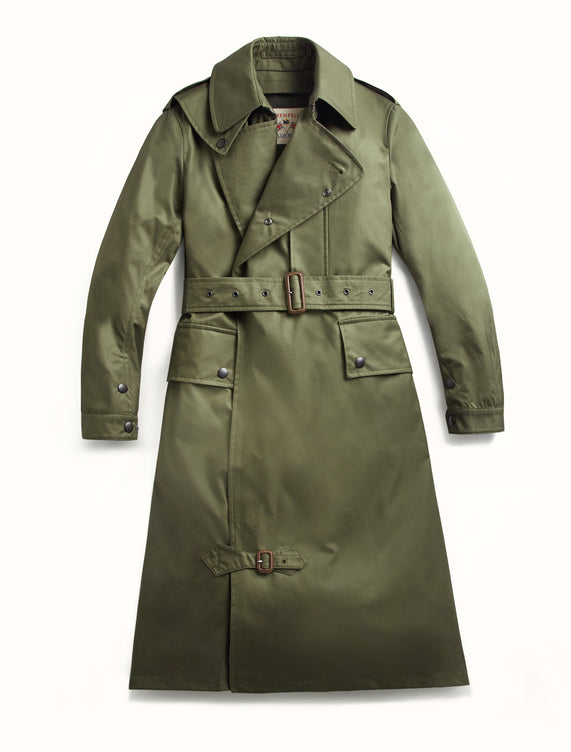 Despatch Riders Coat Grenfell Cloth Green