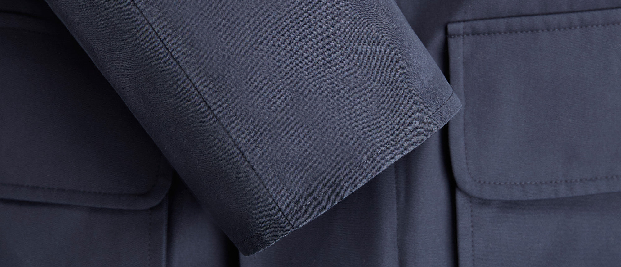 New County Italian Gabardine Navy