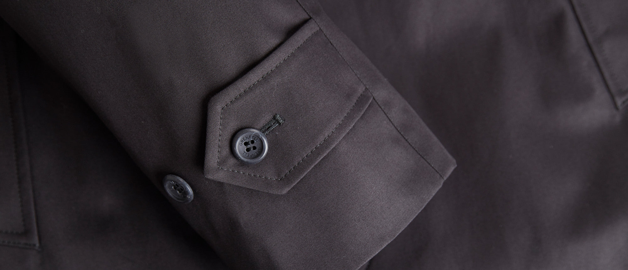 Campbell Cotton Gabardine Black