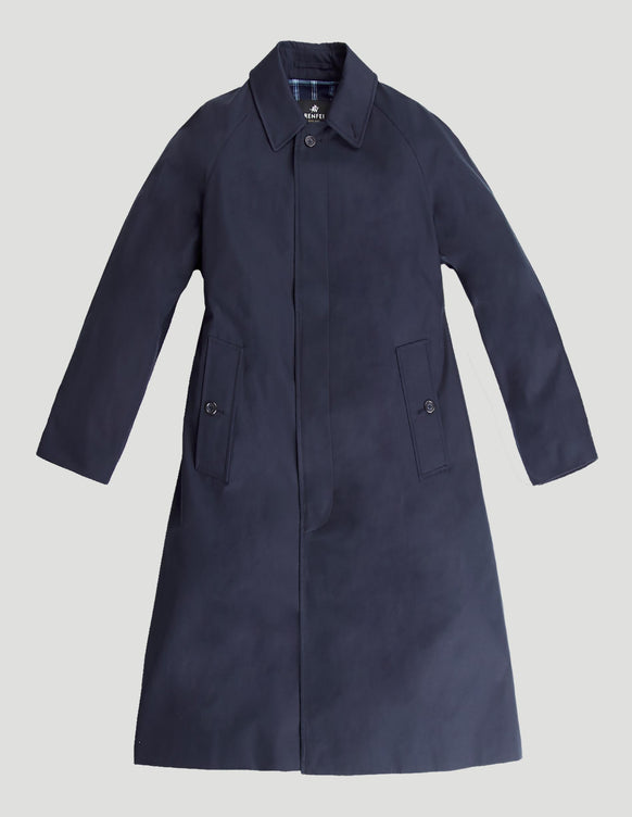 Campbell (Classic Fit) with Detachable Liner Cotton Gabardine Navy