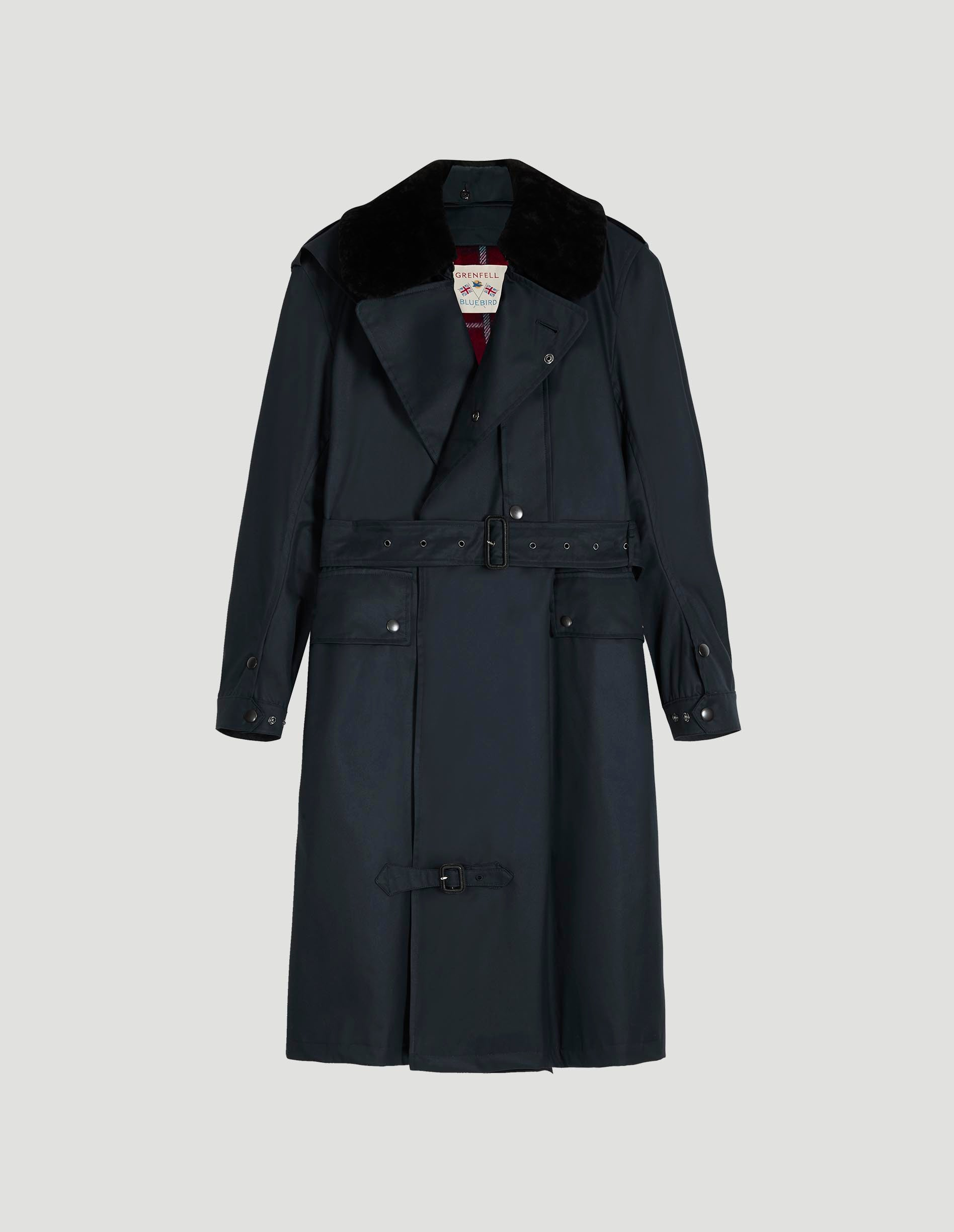 Despatch Riders Coat Grenfell Cloth Navy