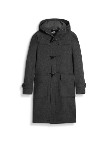 The Original Duffle Coat in Grey Merino Wool