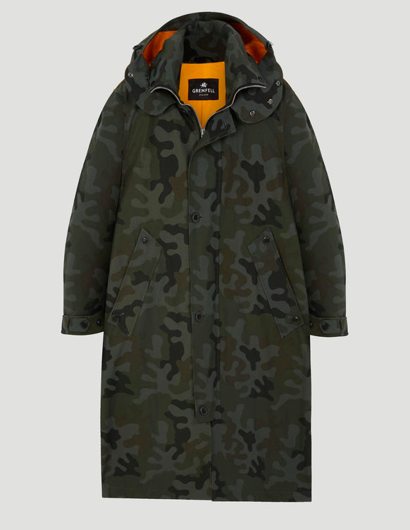Gordonstoun Green Camo